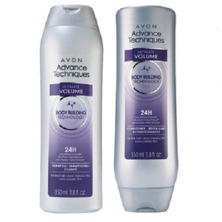 Avon Advance Techniques Ultimate Volume Shampoo & Conditioner Set (Avon Shampoo And Conditioner compare prices)