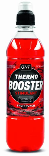 QNT Thermo Booster 500 ml Fruit Punch Weight Loss Support Drinks - 12 x Bottles