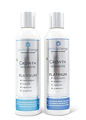 Premium Hair Growth Shampoo and Conditioner