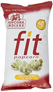 Popcorn, Indiana Fit Popcorn, Parmesan and Herb, 4.4 Ounce