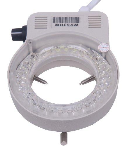 Signstek 56 Led Adjustable Ring Light Illuminator Lamp & Adapter For Stereo Microscope