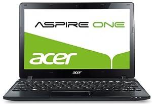 Acer Aspire one 725 29,5 cm (11,6 Zoll) Netbook (AMD C-60, 1 GHz, 4GB RAM, 500GB HDD, AMD HD 6290, Bluetooth, kein Betriebssystem) schwarz