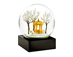 Gold Pagoda Snow Globe by CoolSnowGlobes