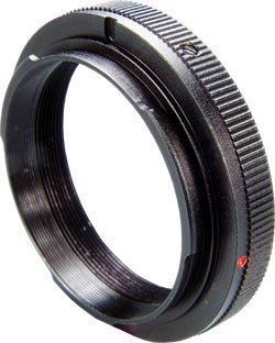 Telescope Dslr Adapter Ring - T2 Mount - For Canon Af Cameras - Enables You To Mount Your Dslr Camera To Your Telescope To Take Photographes By Dragonfly Optical