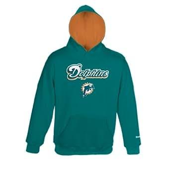 nfl boys miami dolphins sportsman fleece hoodie