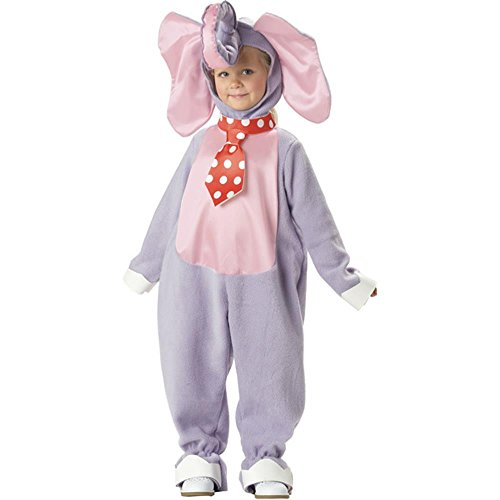 Eccentric Elephant Costume: Toddler's Size 2T-4T