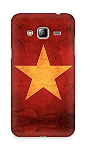 Amez designer printed 3d premium high quality back case cover for Samsung Galaxy J3 (2016 EDITION) (Star surface paint)