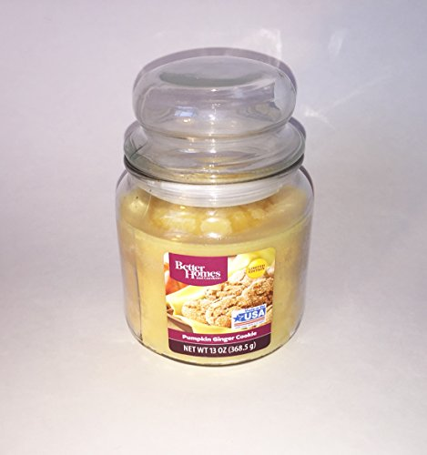Pumpkin Ginger Cookie Candle - 13 Ounces - Better Homes and Gardens - Limited Edition Scent (Pouring Pitcher Candle compare prices)