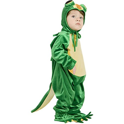 Cute Toddler Green Halloween Costume Idea Little Gecko
