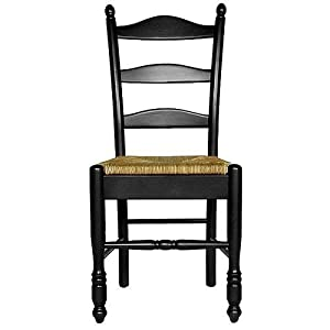 Carolina Cottage Antique Black Finish Vera Dining Chair