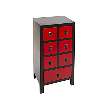 Consola Ming negra/roja