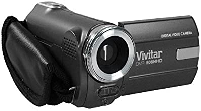Compact HD Camcorder Vivitar DVR508HD 720p - Black (1.8 Screen, 4x Zoom, 720P HD Recording)