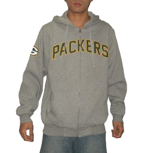 NFL Green Bay Packers Mens Heavy Weight Warm Zip-Up Hoodie / Sweatshirt Jacket (Size: XXL)