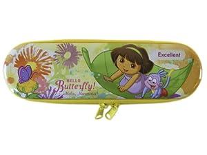 Nickelodeon 8in Hello Butterfly Zippered Dora the Explorer Pencil Tin - Dora ...