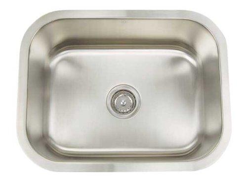 Artisan AR 2318 D10-D Premium Collection 16-Gauge 23-Inch Undermount Single Basin Stainless Steel Utility Sink