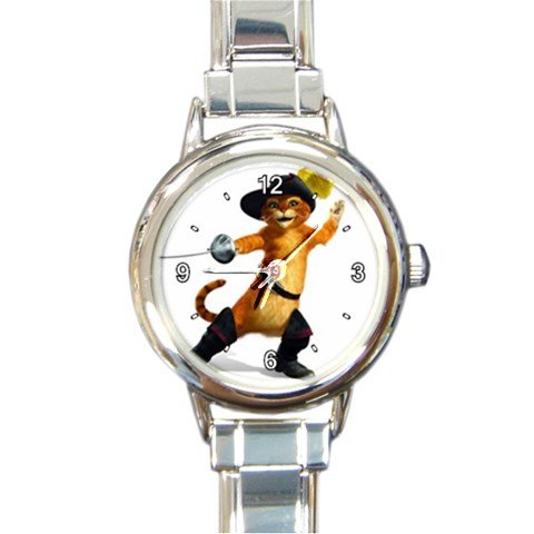 Puss In Boots Animation Custom Design Italian Charm Watch#2 (Italian Puss compare prices)