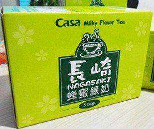 Casa Milky Flavor Tea X 1 Box (Nagasaki- Honey Green Tea)