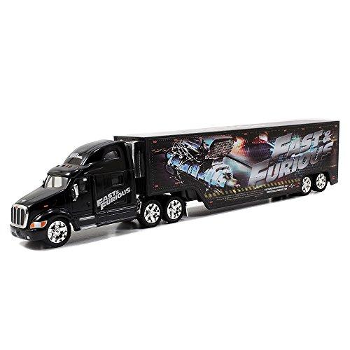 Jada Toys Fast & Furious 1:64 Diecast Hauler  Peterbilt 387 Hauler  G, Black (Toy Walmart Truck compare prices)