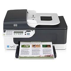 HP Officejet J4680 Multifunktionsgerät (4-in-1, Fax, Scanner, Kopierer und Drucker)