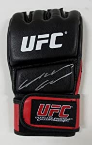 Anderson Silva Signed/Autographed UFC MMA Red Glove JSA - Autographed UFC Gloves
