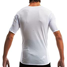 Assos Men's Summer Short Sleeve Base Layer - White - 00.020.5