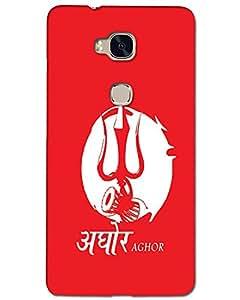 MobileGabbar Huawei Honor 5X Back Cover Printed Mobile Cover