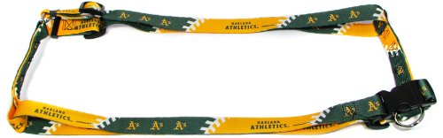 Hunter MFG 1-Inch Oakland Athletics Adjustable Harness, Large mlb oakland athletics lil teammates pitcher