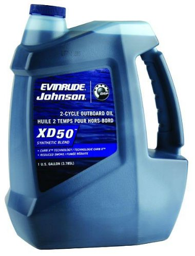 OEM BRP Johnson Evinrude E-Tec XD 50 2-Cycle Outboard Motor Oil One Gallon