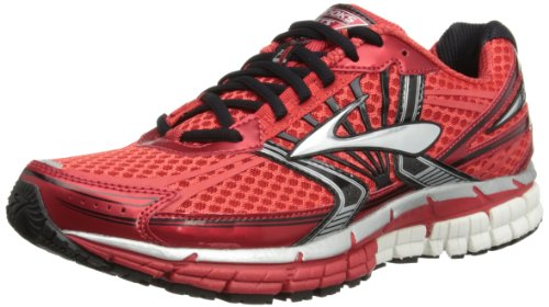 Brooks Mens Adrenaline GTS 14 Running Shoes 1101581D698 High Risk Red/Black/Silver 11 UK, 46 EU, 12 US Regular