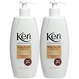 Keri Continuous Moisturization Shea Butter Conditioning Therapy, 15 Ounce at Sears.com