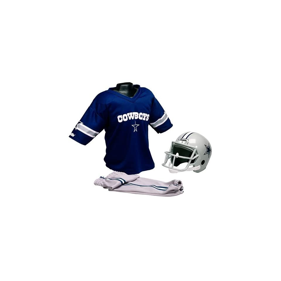 NFL Dallas Cowboys Youth Team Uniform Set, Small