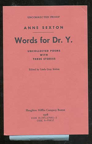 "an interpretation of the poetry of anne sexton all her pretty ones And the metaphysical in such poems as, for instance, ""housewife"" from all my pretty ones: themes and the forms' of the poems in feminist poetry, however, the aspects of anne sexton's poetic project reinforced each other: ""she began to speak of herself as ms one possible explanation of this refusal is psychological."
