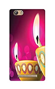 ZAPCASE PRINTED BACK COVER FOR Gionee Marathon M5 Lite