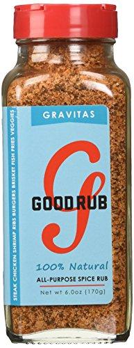 Good Rub Gravitas All Natural Multi-Purpose Seasoning, 6 Ounce