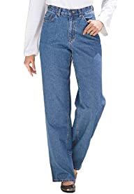 Plus Size Tall Jean, Relaxed Fit, , 5…