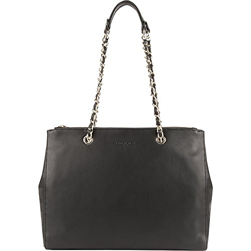 lancaster-paris-mademoiselle-estelly-double-chain-shoulder-tote-black