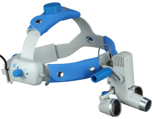 Headband Dental Surgical Loupes With Led Headlight, 2.5X , 340Mm Working Distance