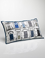 Conran Door Print Cushion