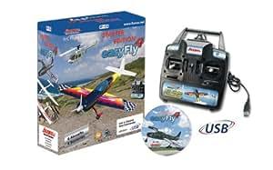 Jamara 65160 - Flugsimulator easyFly 4 Starter SetGC inklusiv Game-Commander (GC)