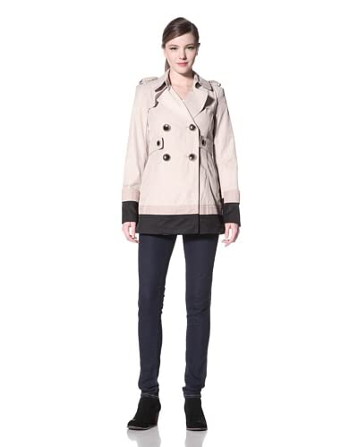 Kensie Women's Double Breasted Trench