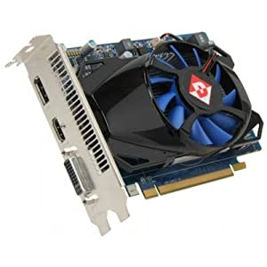 DIAMOND 7750PE51G Radeon HD7750 1GB GDDR5 PCIE3.0 Video Card Cooler Fan DisplayPort/HDMI/DVI