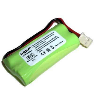 HQRP Rechargeable Phone Battery for AT&T LUCENT CL82400 CL82450 CL82500 CL82550 CL82600 EL52100 Cordless Telephone image
