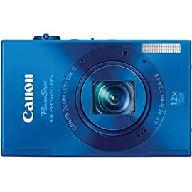Canon PowerShot ELPH 520 HS Digital Camera (Blue)