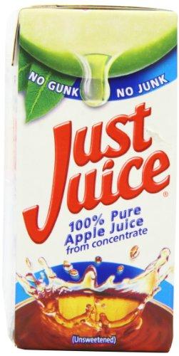 Just Juice Apple Juice 200 ml (Pack of 24)