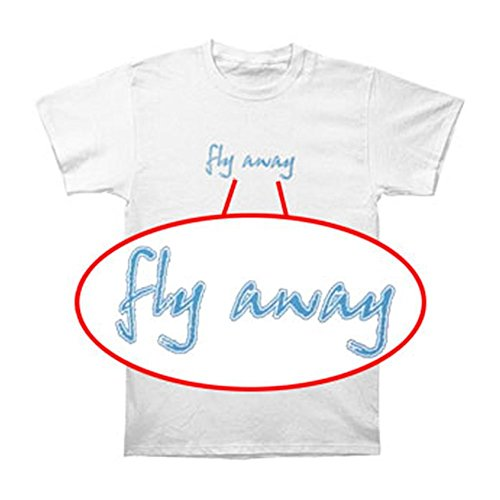 Tusgur Lenny Kravitz Men's Fly Away T-shirt White