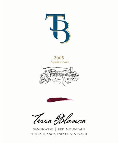 2005 Terra Blanca Signature Series Red Mountain Sangiovese 750 Ml