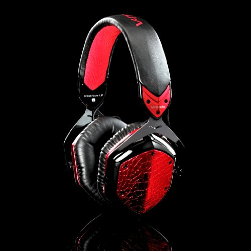 V-moda XFLPR-E-ROUGE Crossfade LP Remote with Inline Volume Control - Rouge