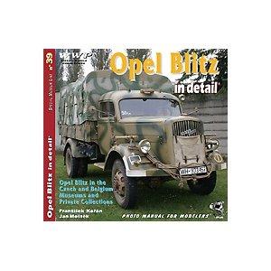オペルブリッツ ディティール写真集[R039]Opel Blitz In Detail