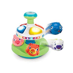 Bright Starts Having a Ball(TM) Alphabet Pop Top(TM) (Green)