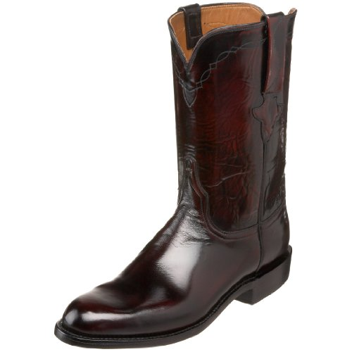 Lucchese Classics Men's L3505.RR Western Boot,Blackcherry,14.5 EE US